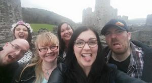 Family trip (minus Tom) to Conwy Castle.